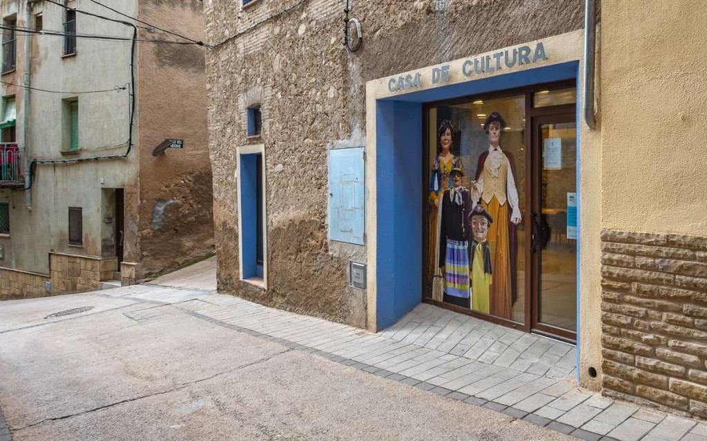 Ajuntament de Riudecols. Casa de Cultura. Biblioteca municipal.