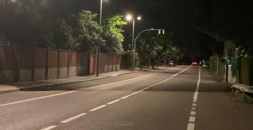 Els treballs de substitució de l'enllumenat públic segueixen millorant la qualitat lumínica
